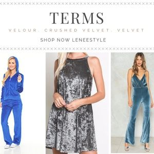 Jackets & Blazers - Terms: velour, crushed velvet,  velvet